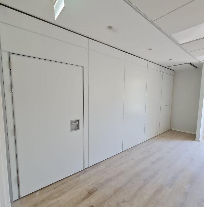 קירות מודולריים ניידים אקוסטיים